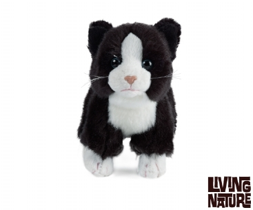 Living Nature Keycraft Cat Soft Toy