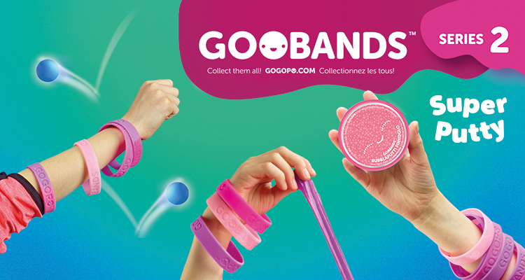 GOGOPO Goobands™ Slime & Putty Toys