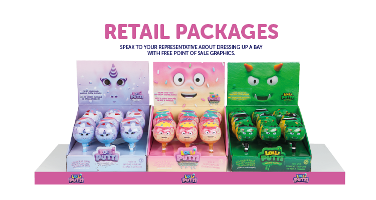 LOLLIPUTTI™ Collectibles Toys