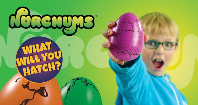 Nurchums™ Hatching Eggs Toys