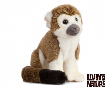 Keycraft Living Nature Soft Toys Living Nature Squirrel Monkey